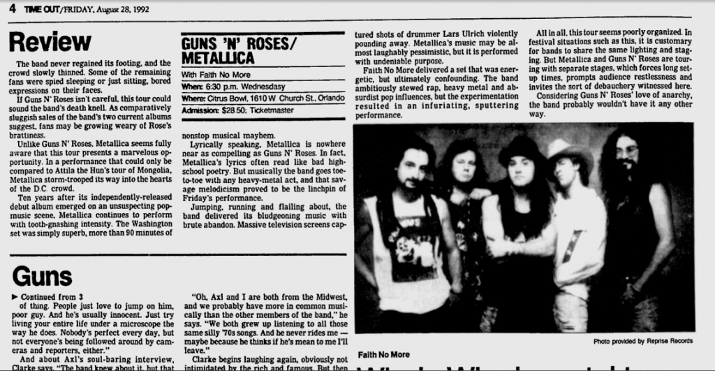 1992.08.28 - Interview with Gilby in Lakeland Ledger Utennavn-49