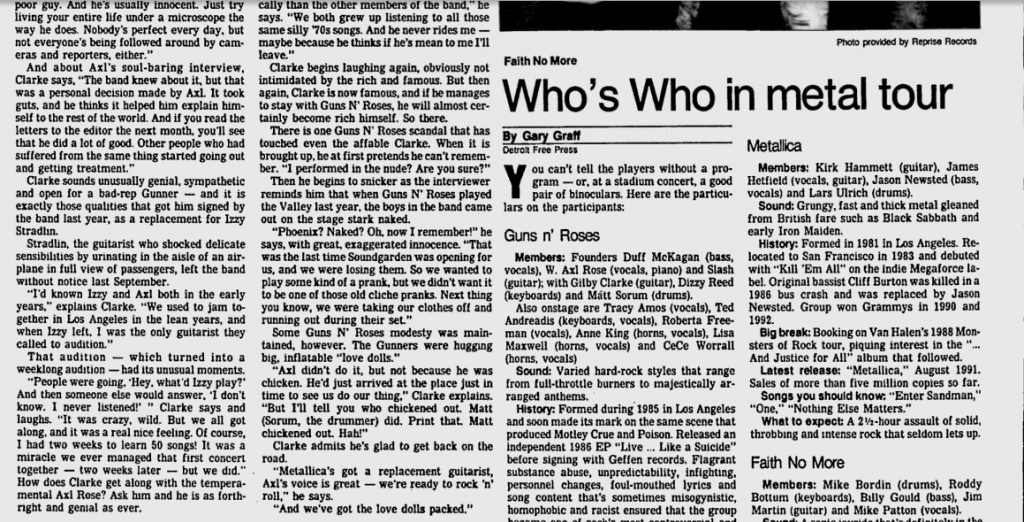 1992.08.28 - Interview with Gilby in Lakeland Ledger Utennavn-50