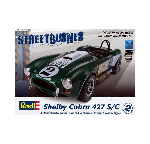 Carroll Shelby. Shelby Cobra 427 CAJA