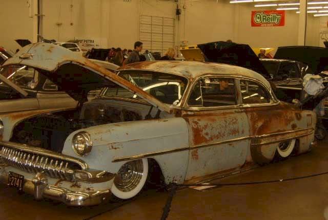 Chevy 1953 - Bel Air e outros 119-w