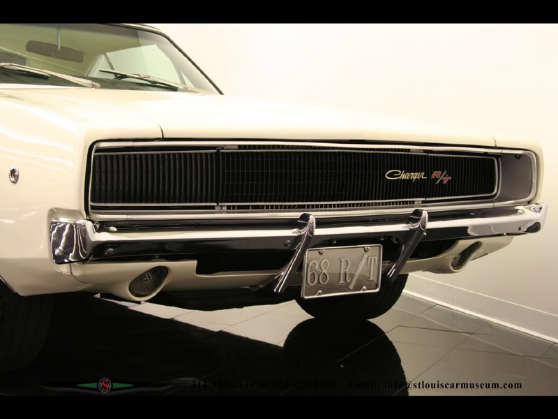 Dodge Charger - 1968 30charger68WhtBlk4spd