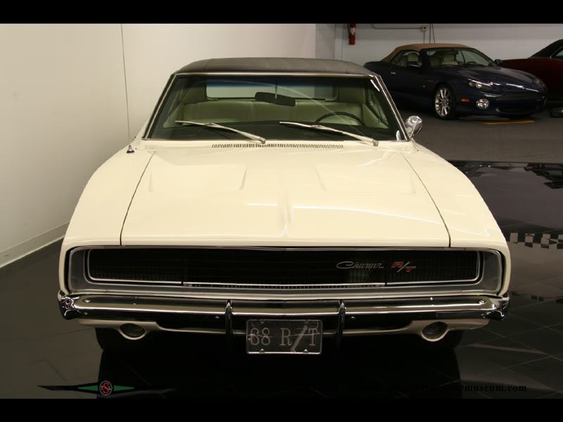 Dodge Charger - 1968 6charger68WhtBlk4spd