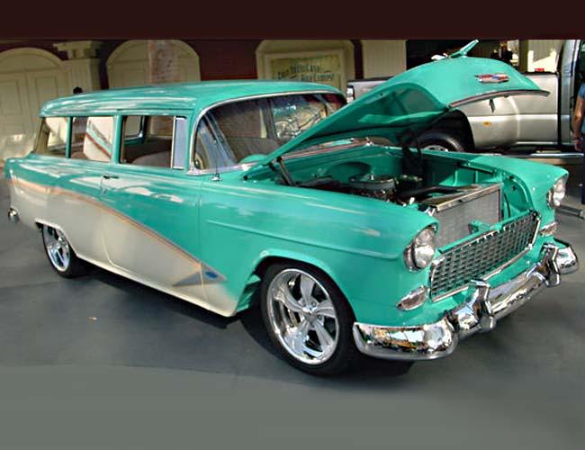 Chevy 1955 - Bel Air e outros Belairwagontvista