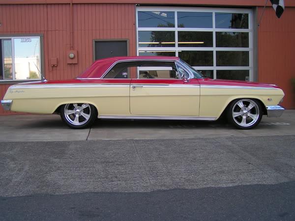 Chevy Impala 1962 Side
