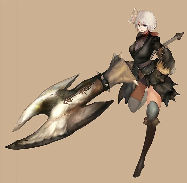 Monster Hunter - CG Dec4c25590e7daf39f97dcfc186a94b5