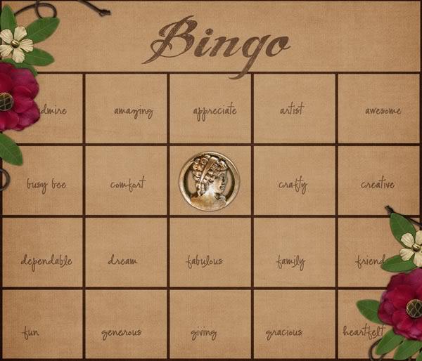 Best Decorated Bingo Card Contest July 6th Bingo