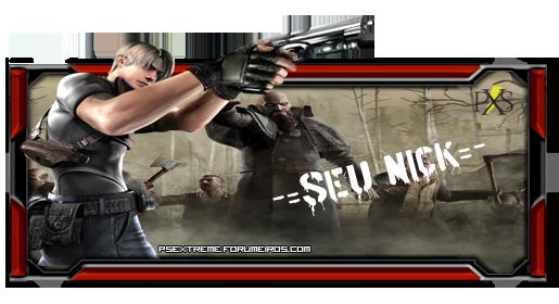 Assinatura Resident Evil Ssss