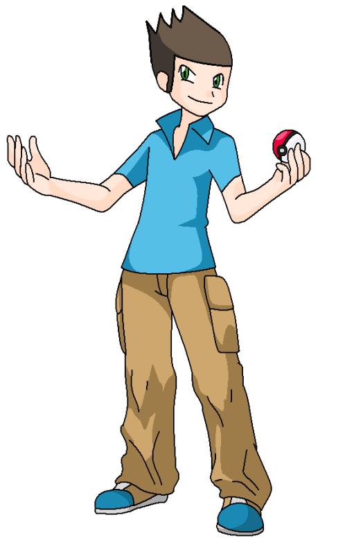 Meus fangames de Pokémon! (Jasper e Spinel) Ele