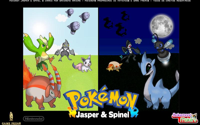 Meus fangames de Pokémon! (Jasper e Spinel) Wallpaper1440