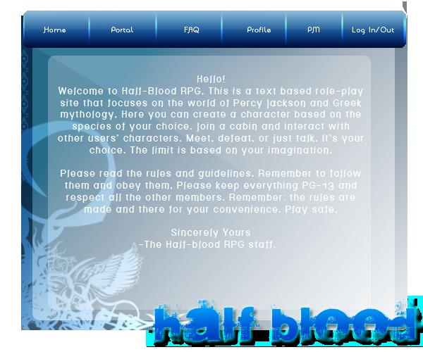 ~.::Kaira's Portfolio::.~ Halfbloodhome