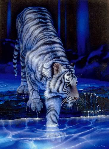 Baise, Taoxin [[Done]] White-tiger-water-fierce