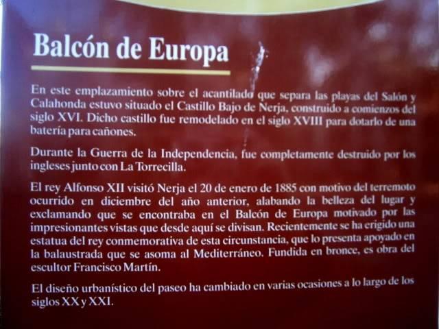 Nerja: El balcón de Europa. PB220018