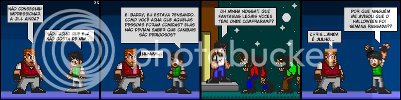 Tirinhas de Resident Evil 002