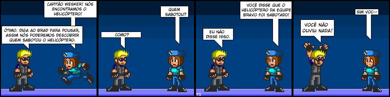 Tirinhas de Resident Evil 004