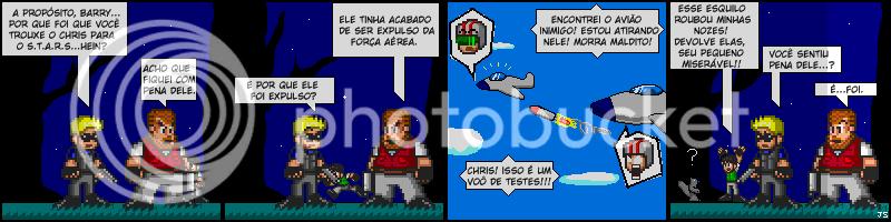 Tirinhas de Resident Evil 006