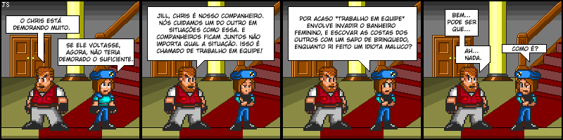 Tirinhas de Resident Evil 044