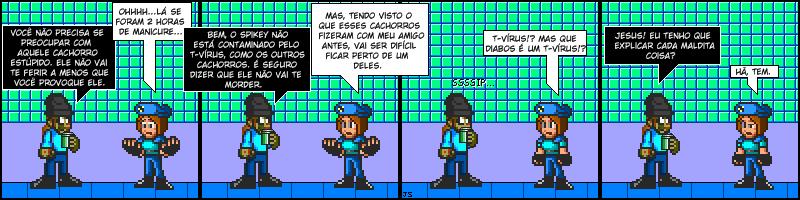 Tirinhas de Resident Evil 078