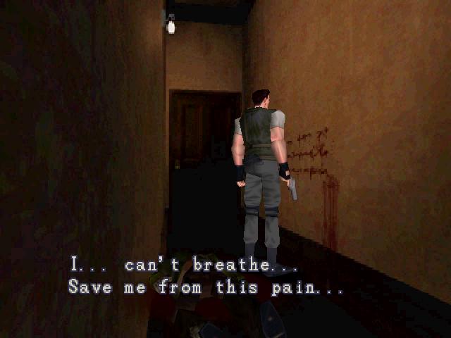 Resident Evil 1 Demo - Files Mensagemcomsangue