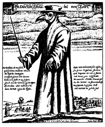 """Plague Doctors"", como Referência Plaguedoctor"