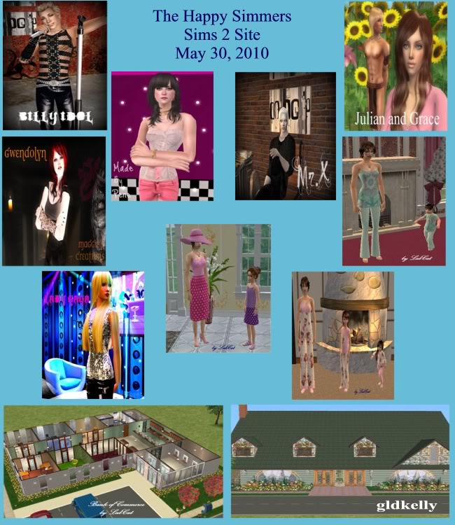 The Happy Simmers - Sims 2 Site Updates May30Update