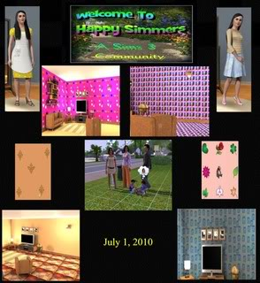 The Happy Simmers - Sims 3 Site Updates July1Sims3Site