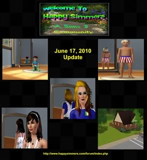 The Happy Simmers - Sims 3 Site Updates June17Sims3Site