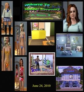 The Happy Simmers - Sims 3 Site Updates June24Sims3Site