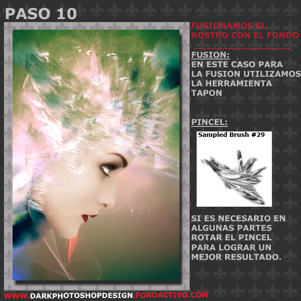Woman Fusion Tag PASO-10-2