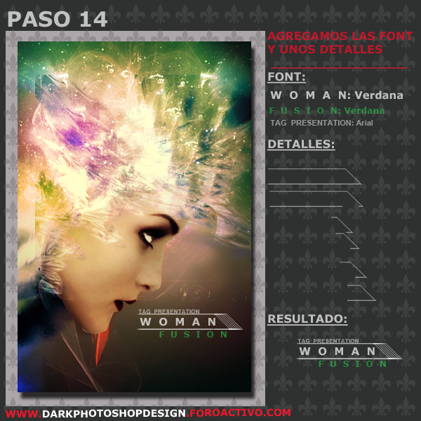 Woman Fusion Tag PASO-14