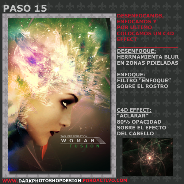 Woman Fusion Tag PASO-15