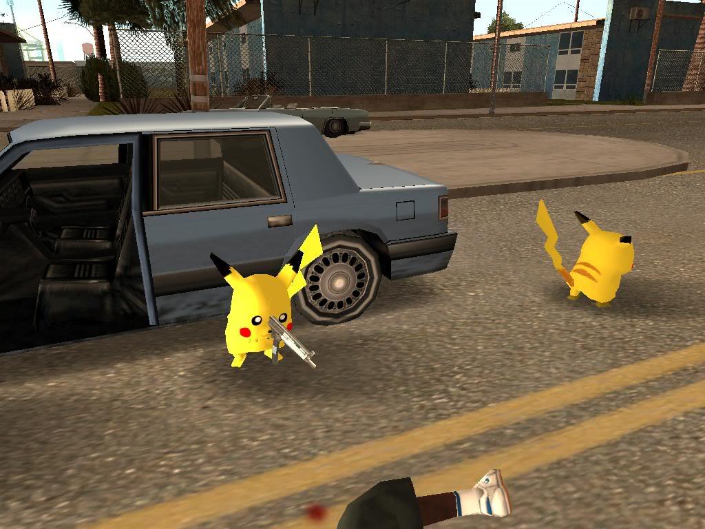 Pikachu en Grand theft auto Gallery34