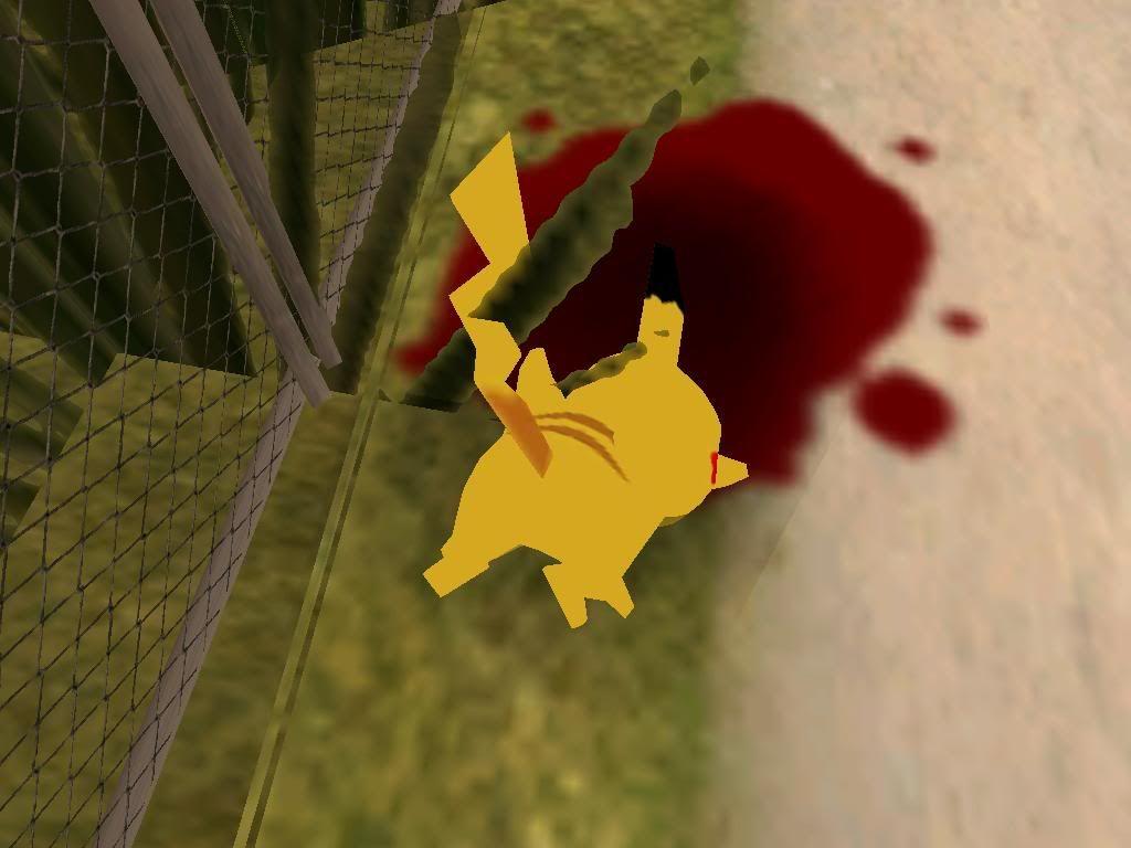 Pikachu en Grand theft auto Gallery37