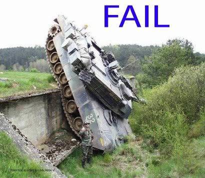 What you think? X3 Tankfail