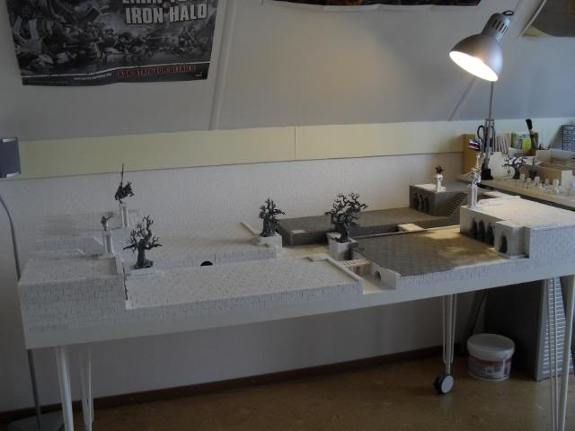 My own little corner of Mordheim... SDC10345