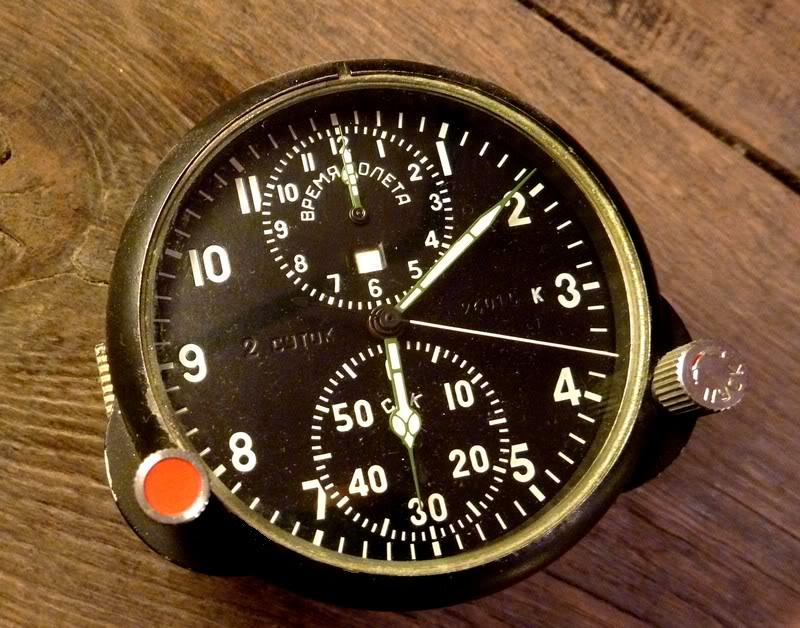 horloge de bord soviétique ChronoMIG