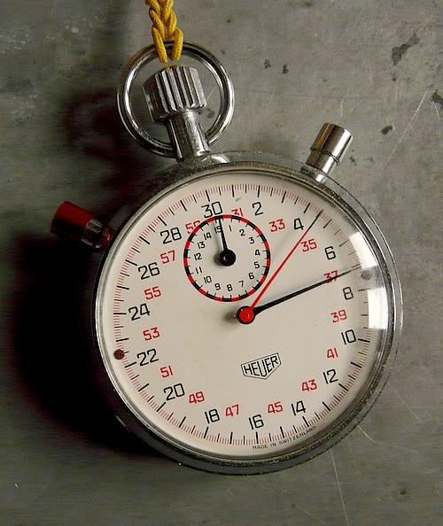 Mes chronographes : revue. CompteurHeuer7701