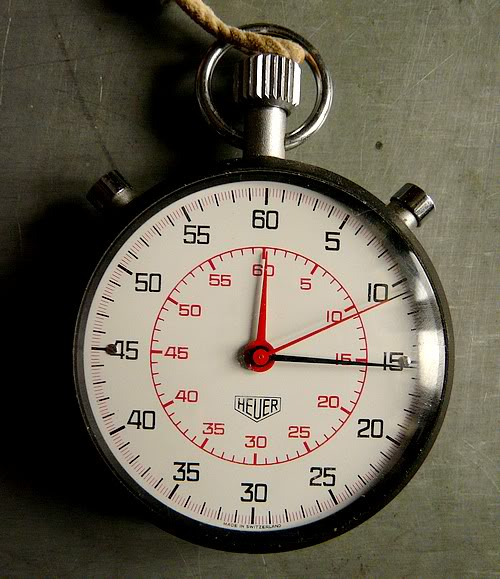 Mes chronographes : revue. CompteurHeuer7711