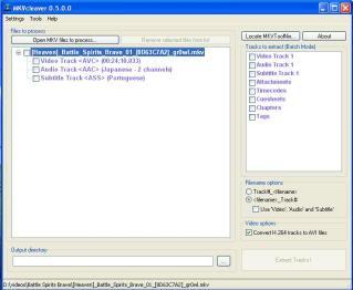 Pasos para encodear MKV o AVI? Mkv01