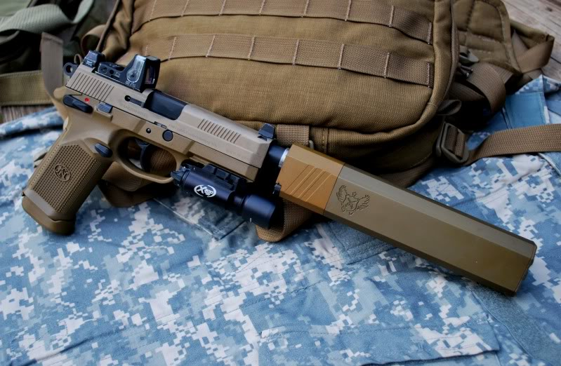 Ace 1 Arms: new range of silencers Photo1FNP45withOsprey