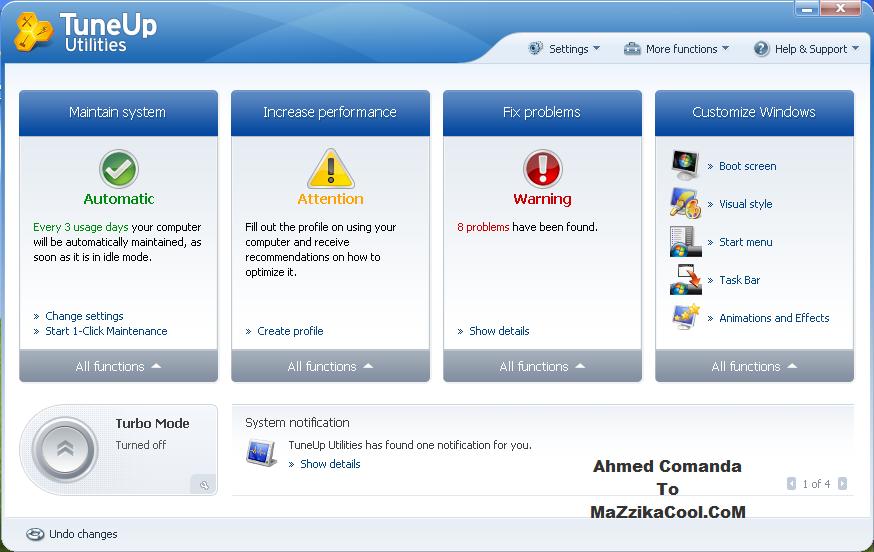 حصريا اسطورة برامج الصياته TuneUp Utilities 2010 9.0.2020.2 Ahmedcomandatomazzikacool2sd1a2daa