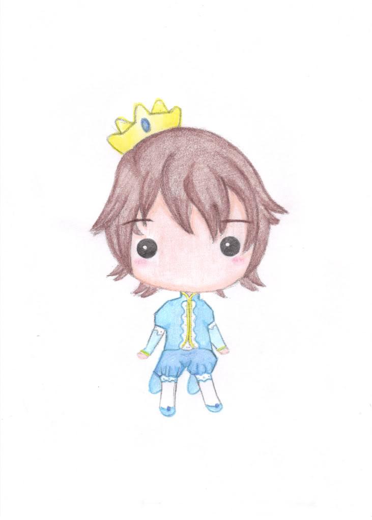 Mis dibujitos feos :D PrincipeJunno
