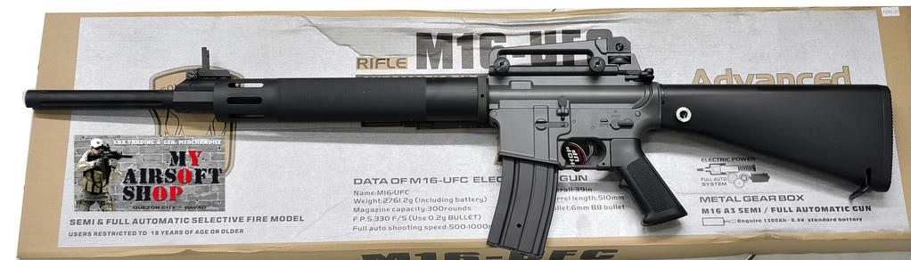 New Items April 7, 2009 M16UFCMAS