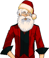 Sammie's New (and Improved 3/14) Sprites Santa
