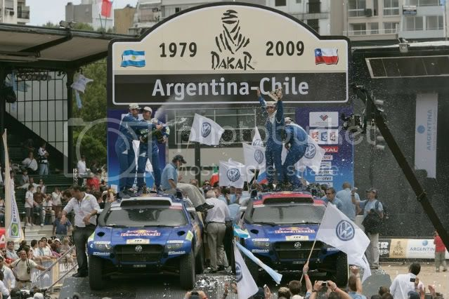 VW CLAIMS FIRST AND SECOND PLACE OF THE 2009 DAKAR RALLY! 2009-dakar-rally-winners---vw-to-3
