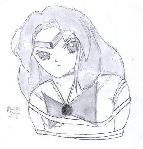 Sailor Vesta's FanArts Printesa