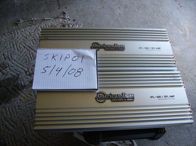 american - FS: American Bass 500.1s and Kicker 1/0 spools Ampsandspools001