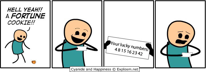 Random Funny Pictures Lost-numbers
