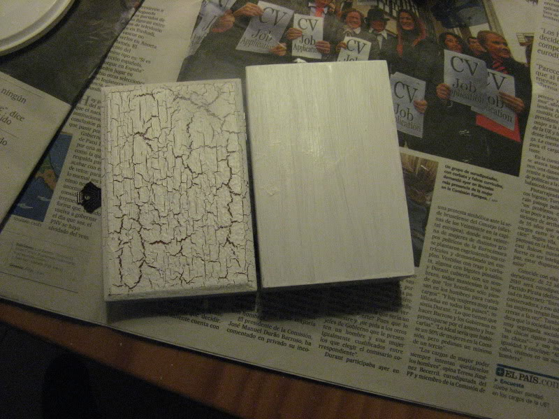 Craquelar sobre madera Manualidades505