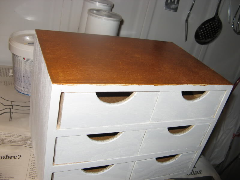 Craquelar sobre madera Manualidades530