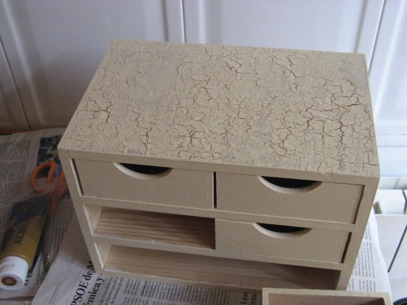 Craquelar sobre madera Manualidades535
